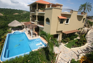Hualtulco Villa Rental - Turtle Bay